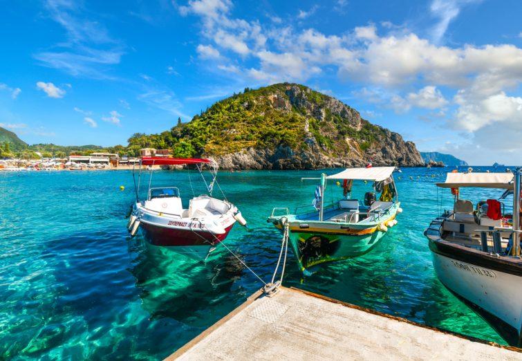 excursions Corfou - Balade en bateau autour de l'île