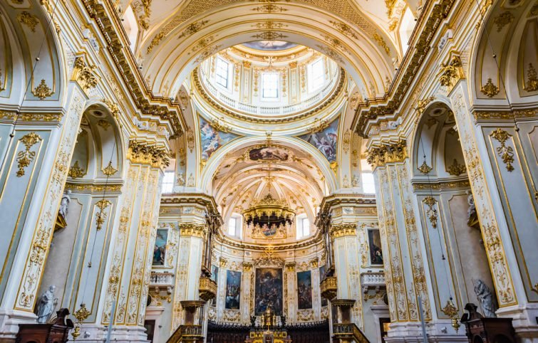 La Cathédrale de Bergame (Sant'Alessandro)