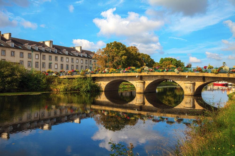 El canal Nantes-Brest en autocaravana, itinerarios