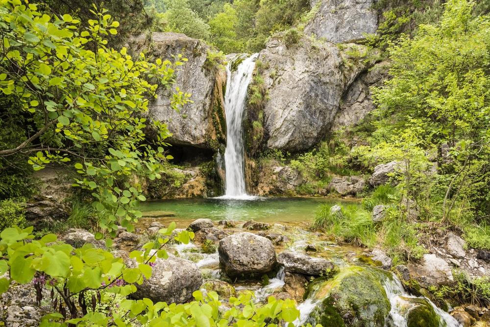 cascade d'Orlias