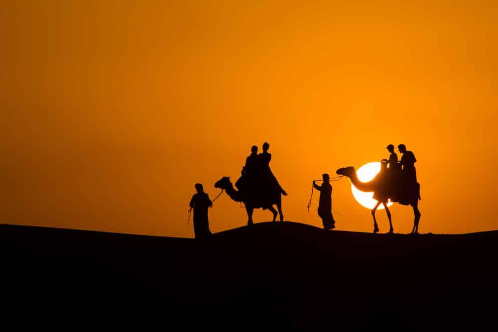 Excursion depuis Dubaï dans le désert