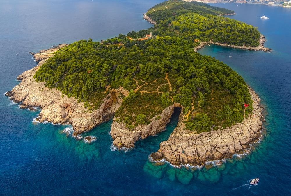 Excursion depuis Dubrovnik à l'Ile de Lokrum