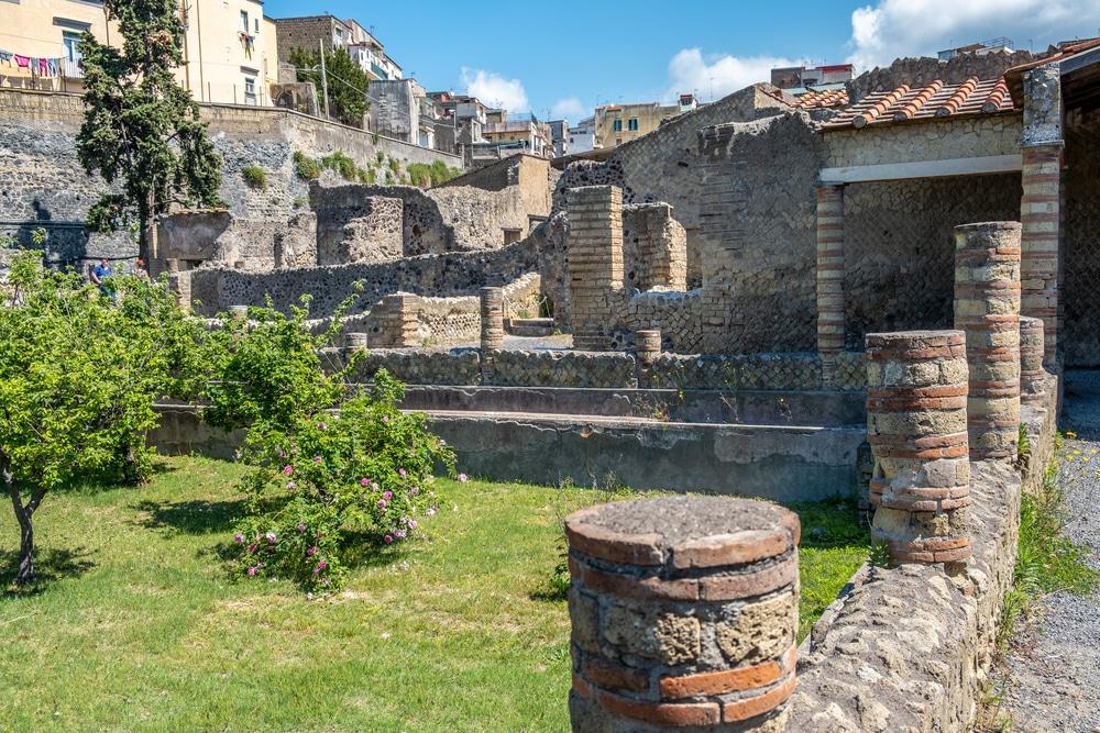 Excursion depuis Naples à Herculanum