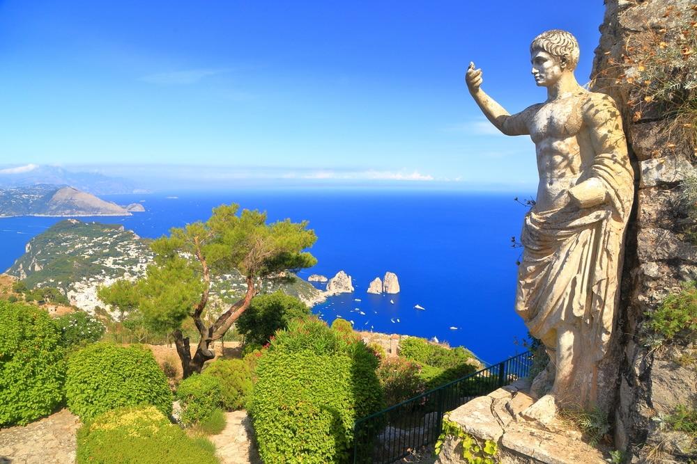 Excursion depuis Naples à l'Ile de Capri