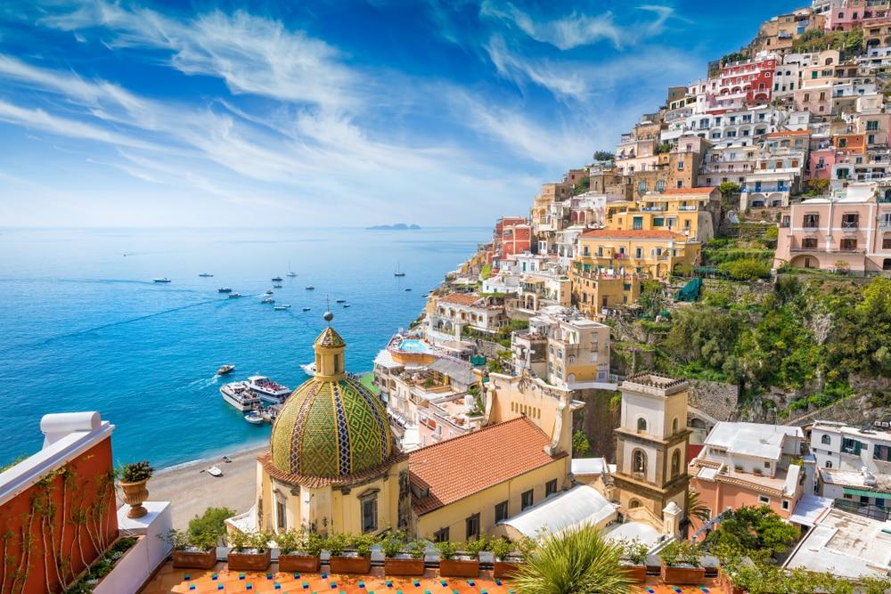 Excursion depuis Naples à Positano