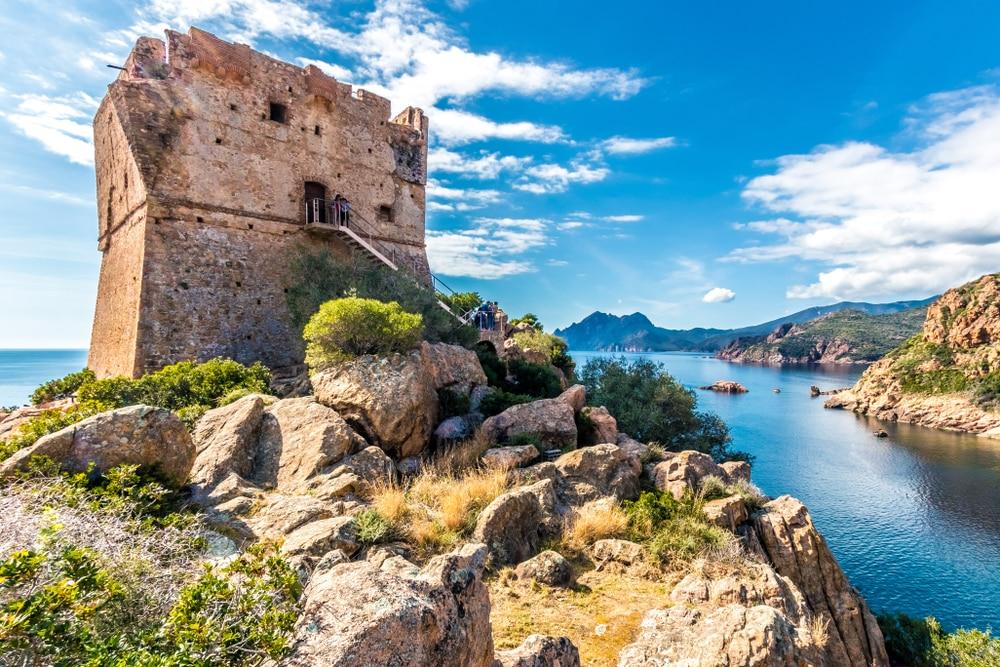 Visiter Porto en Corse : le village