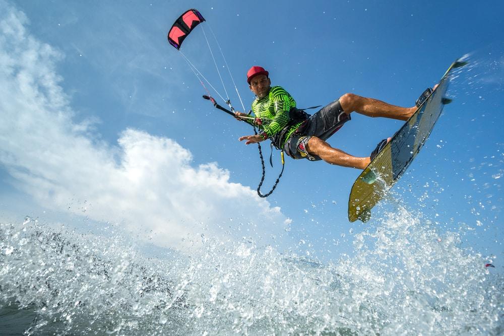 Spot de kitesurf à Carnon proche de Montpellier