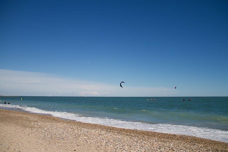 Spot de Villeneuve-lès-Maguelone pour faire du kitesurf à Montpellier