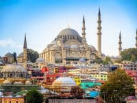 la mosquée de Suleymaniye, Istanbul