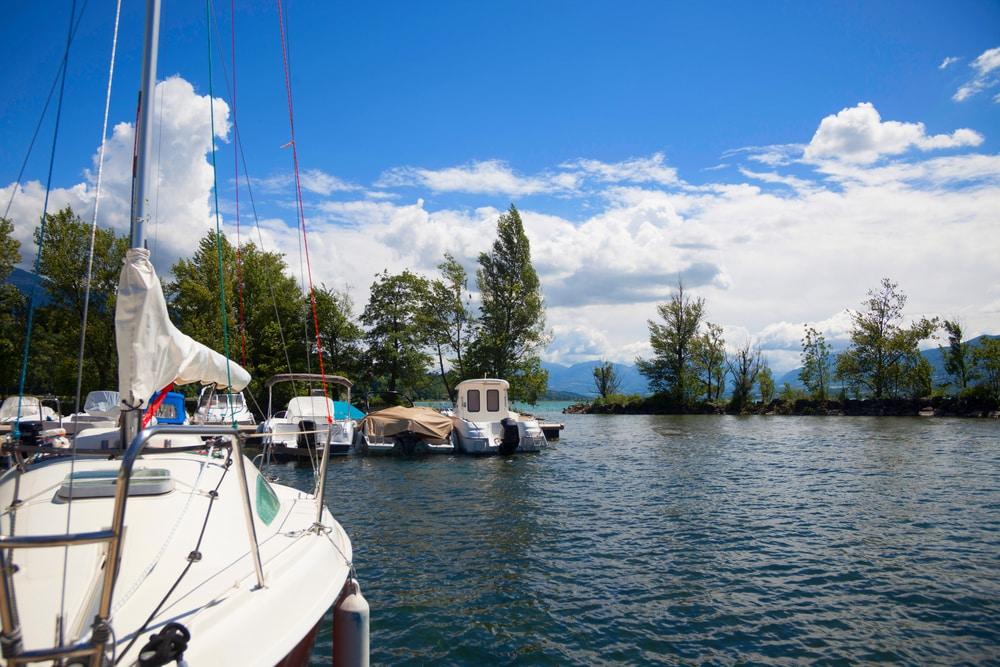 Idées d'itinéraires pour louer un bateau depuis Aix-les-Bains