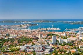 Idées d'itinéraires en bateau depuis Toulon
