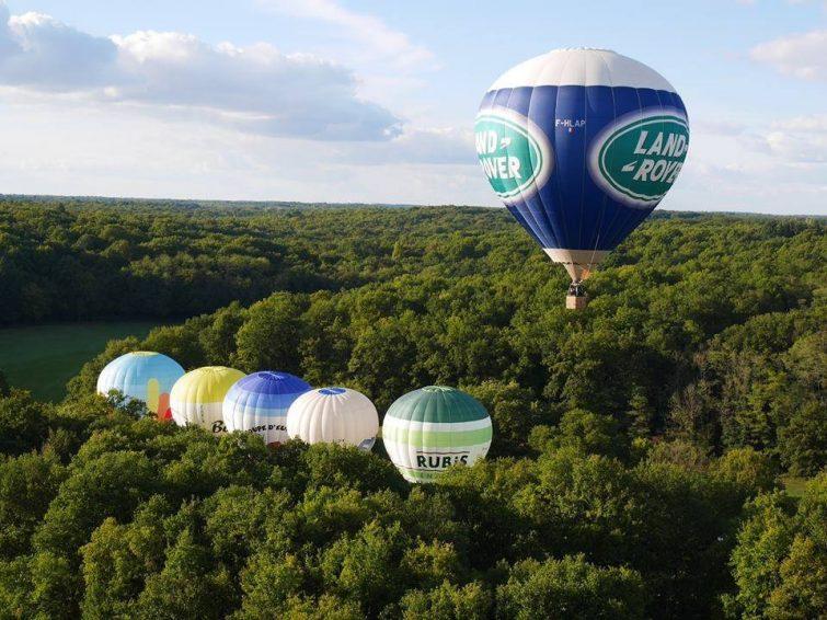 marais poitevin montgolfière