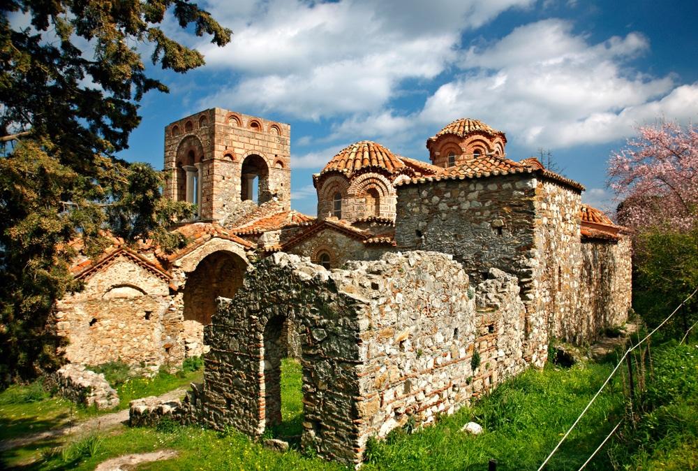 Mystras-Peloponnese