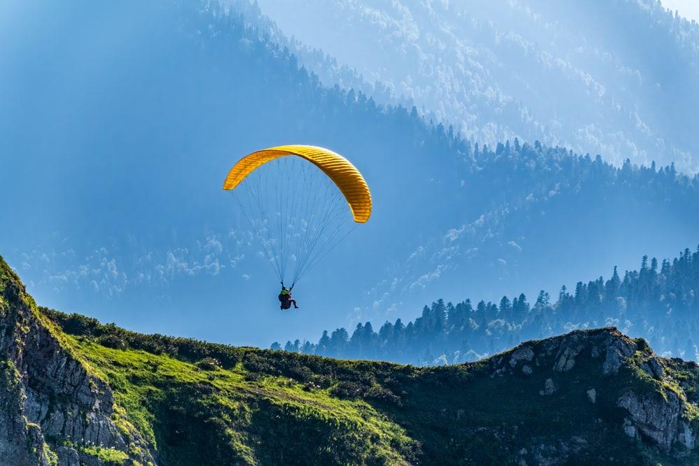 Visiter le Mont Olympe en parapente