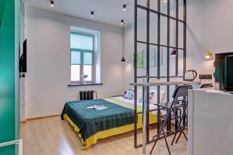 Appartement coloré dans la rue Old Arbat
