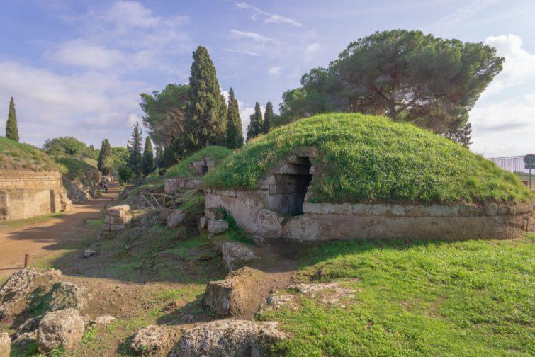 Excursions depuis Rome : La Nécropole Etrusque de Cerveteri