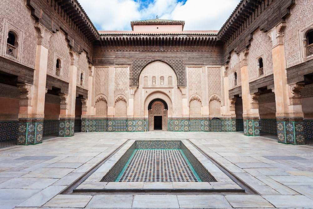 Medersa Ben Youssef, photo du Maroc
