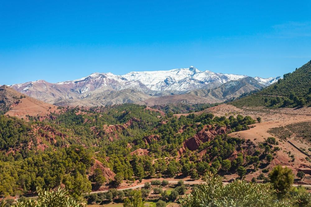 Le Haut Atlas, photo du Maroc