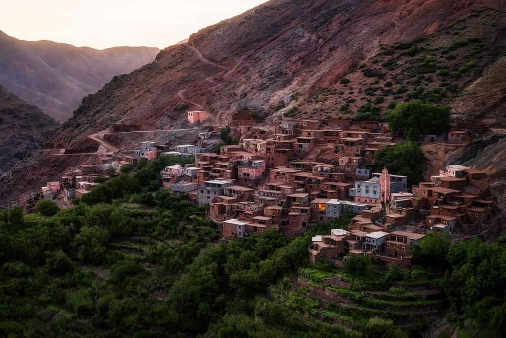 Imlil, photo du Maroc