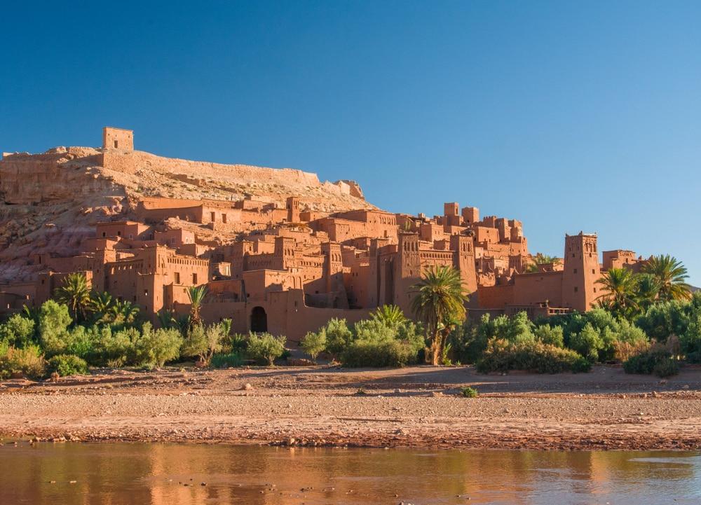 Ksar d'Aït-Ben-Haddou, photo du Maroc