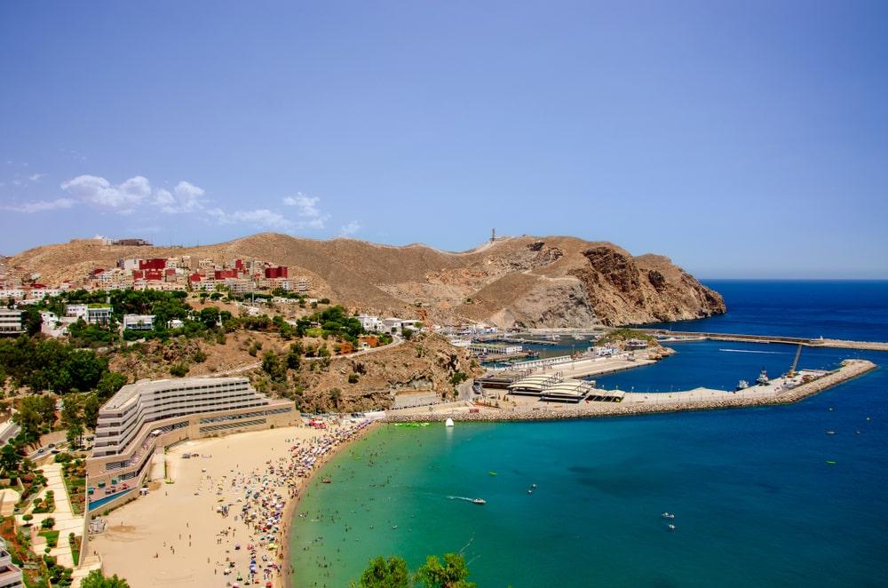 La plage de Quemado, photo du Maroc
