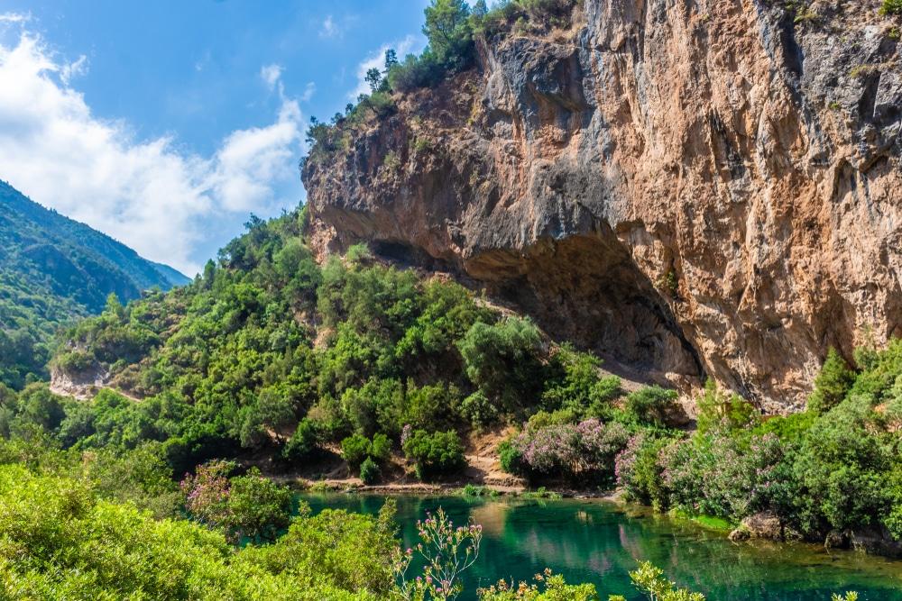 Le parc national de Talassemtane, photo du Maroc