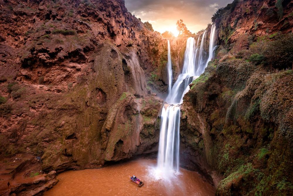 Autre photo des Cascades d'Ouzoud au Maroc