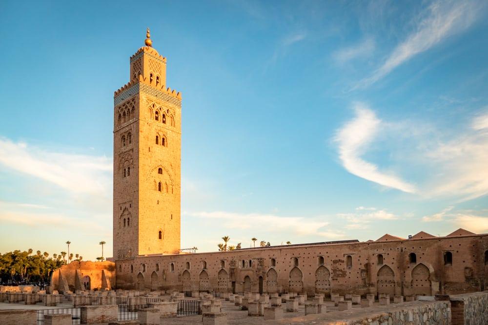 Mosquée Al Koutoubia, photo du Maroc