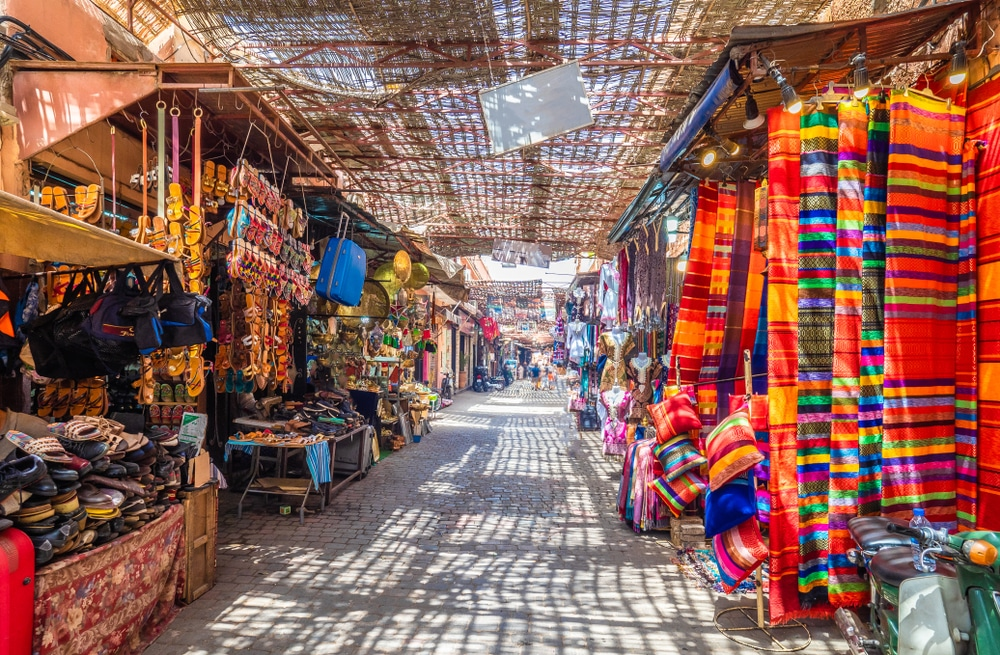 Le marché Jamaa el Fna, photo du Maroc