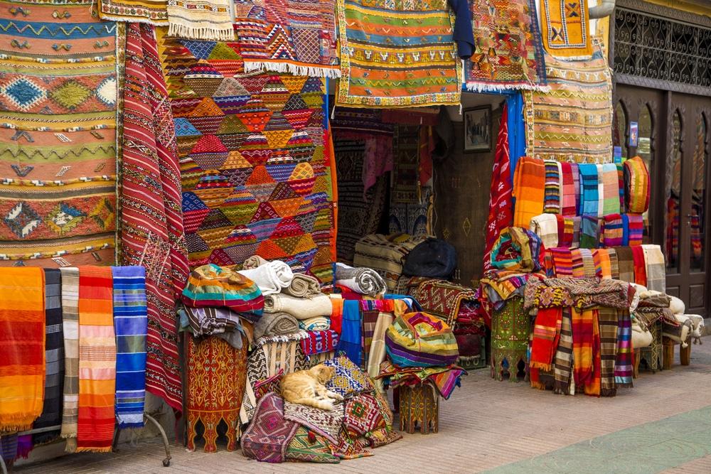 Le souk d'Agadir