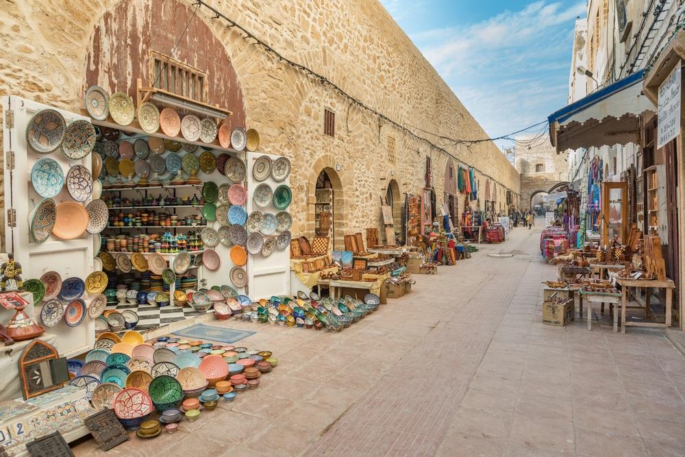 Autre photo du souk d'Essaouira