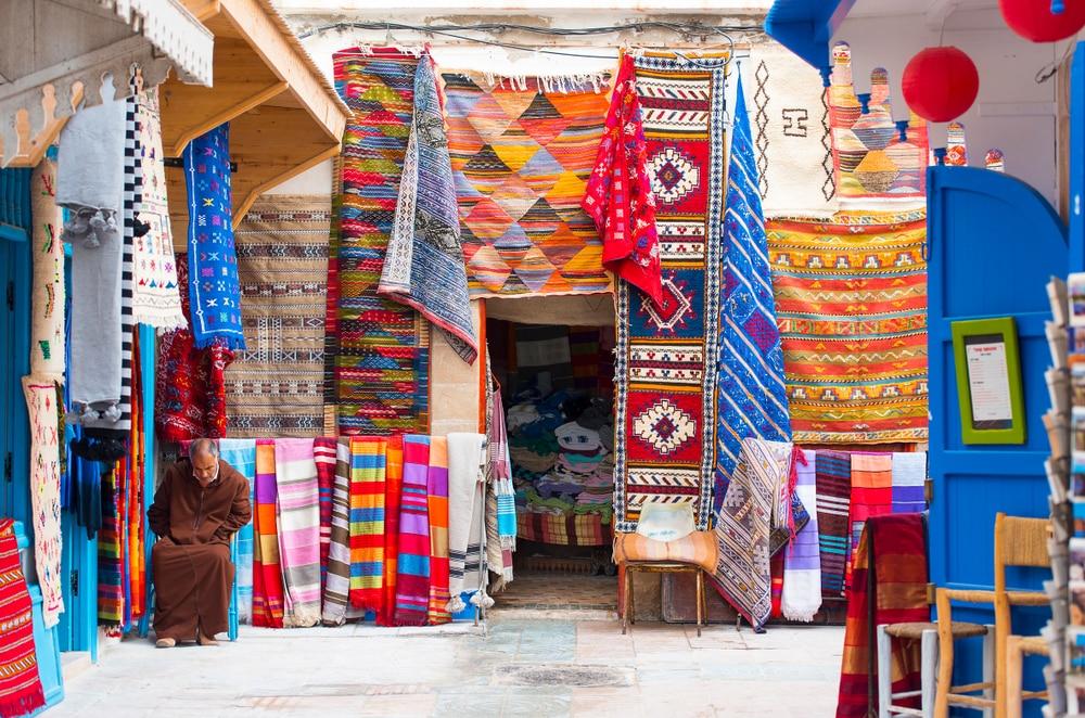 Le souk d'Essaouira, photo du Maroc