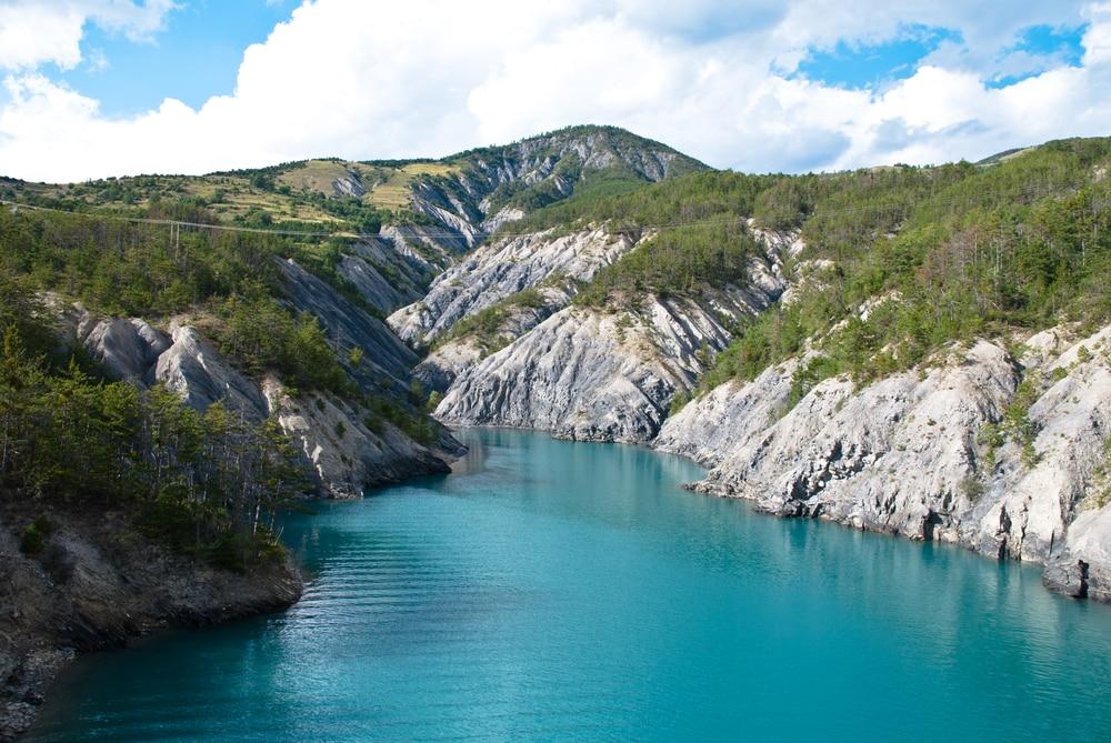 Plus beaux lacs de France : le Lac de Serre-Ponçon
