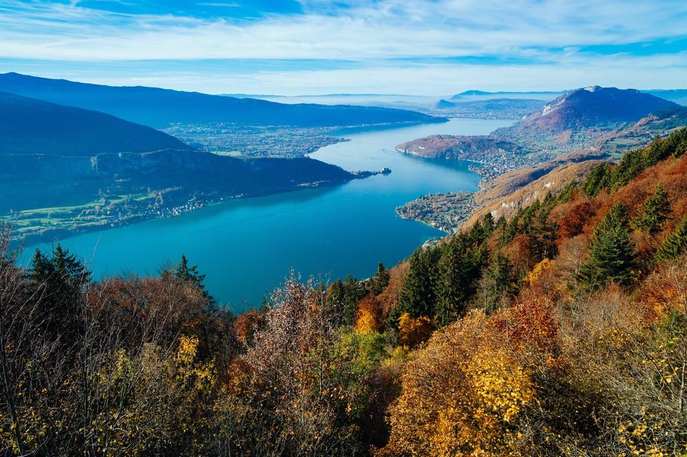 Lac d'Annecy, l'un des plus beaux lacs de France