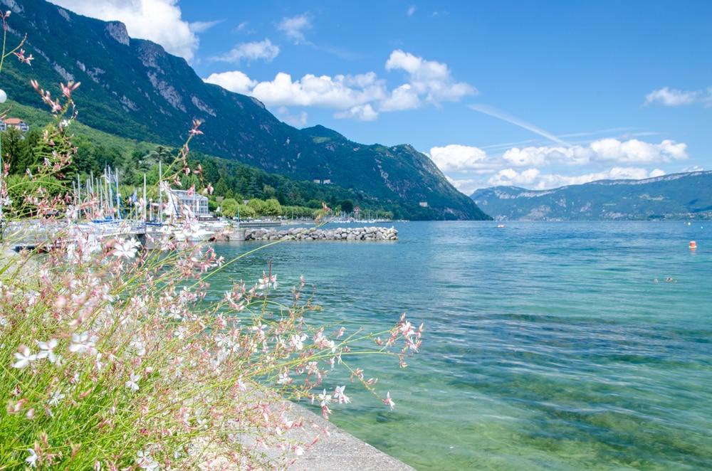 Plus beaux lacs de France : Lac du Bourget
