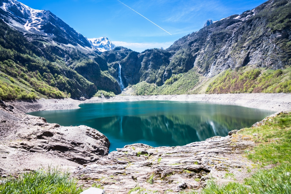 Lac d'Oô, l'un des plus beaux lacs de France