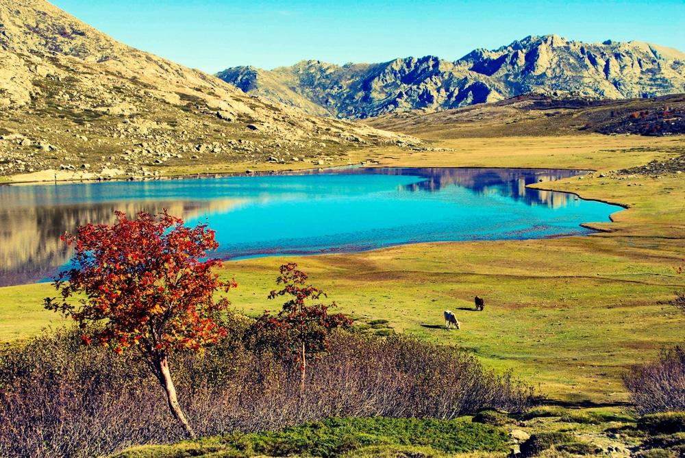 Le lac de Nino en Corse