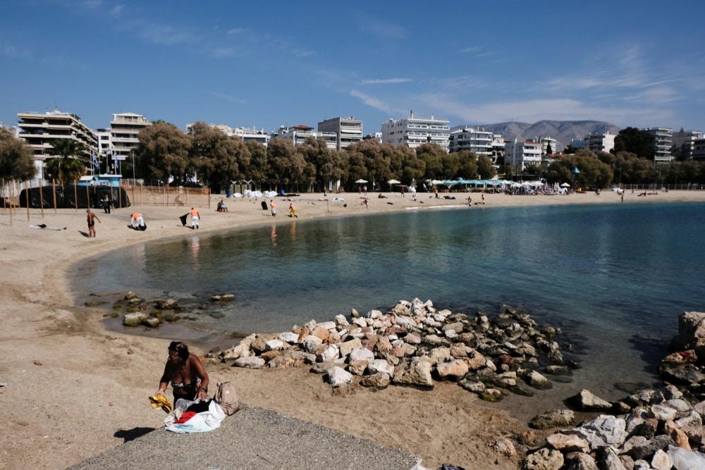 Alimos beach - plages Athènes