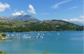 lac de Serre-ponçon, Alpes