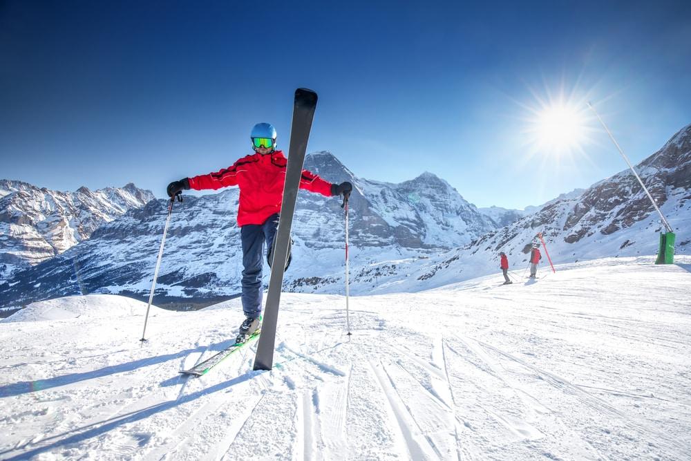 Ski Jungfraujoch
