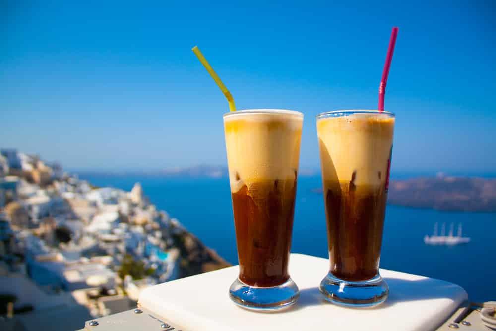 Freddo Espresso, café froid, spécialité grecque