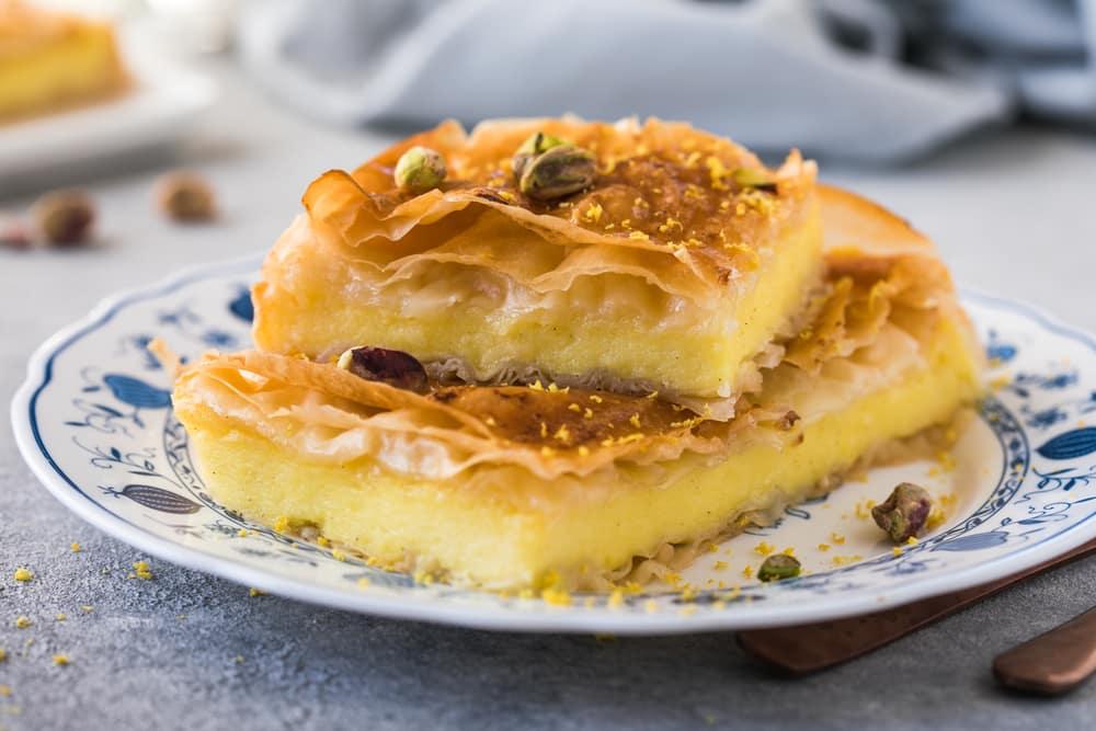 Galaktoboúreko, dessert traditionnel grec