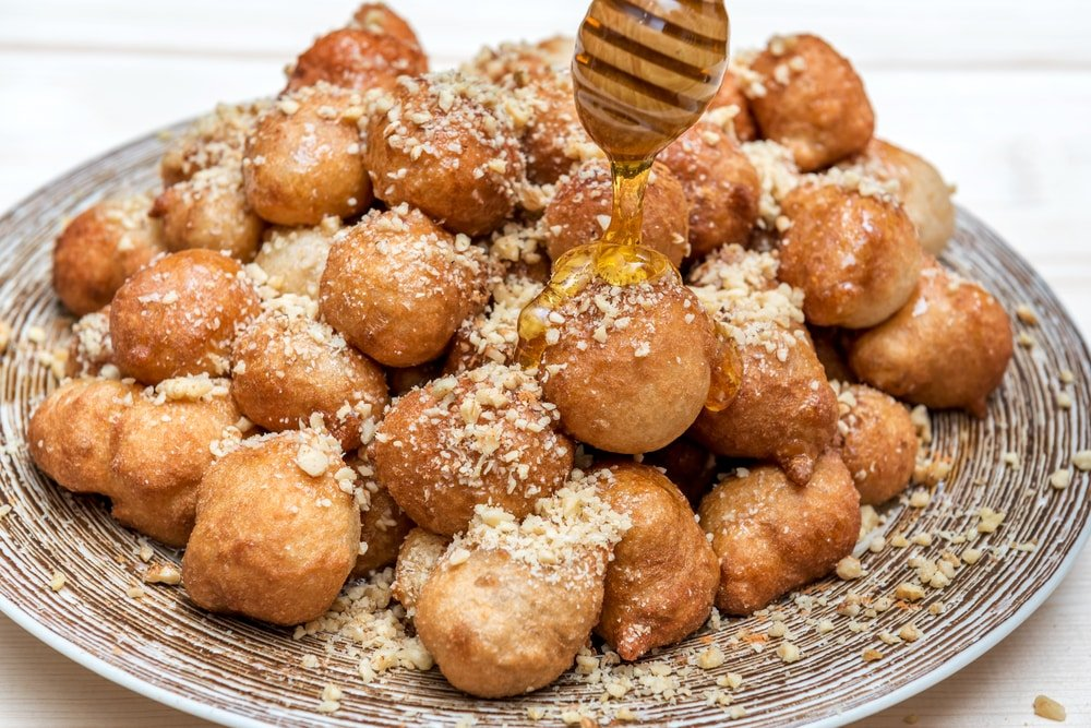 Loukoumades dessert traditionnel