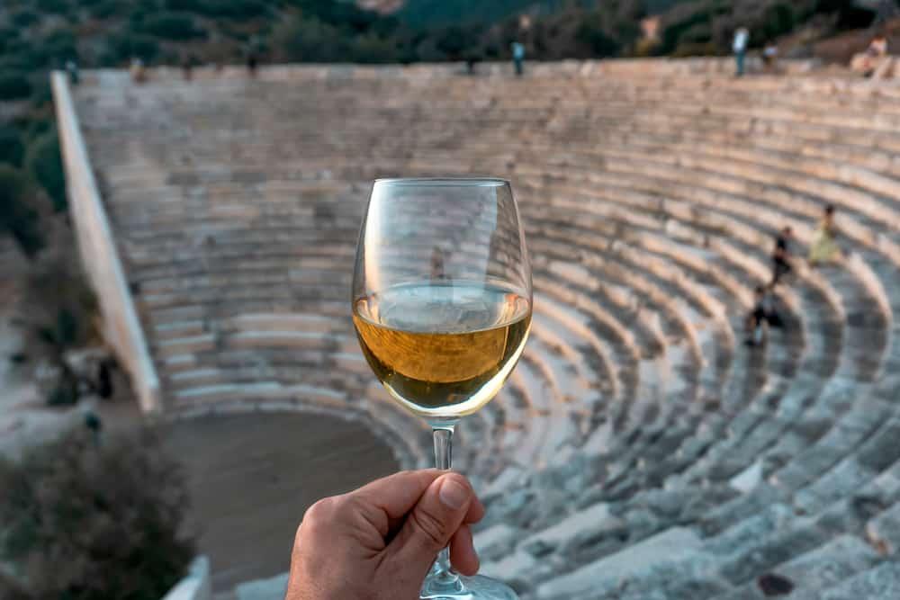 Retsina, l'une des spécialités grecques depuis des siècles!