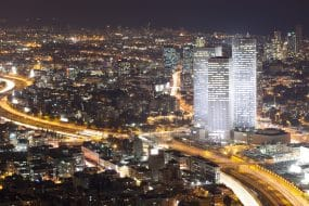 Tel-Aviv by night