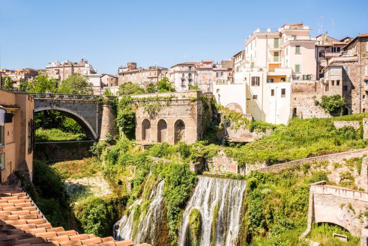 Excursions depuis Rome : La Villa Gregoriana, Tivoli