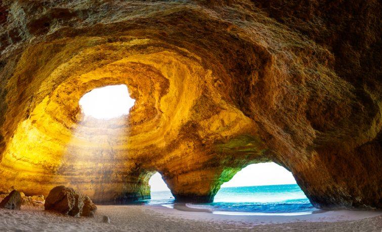Découvrir les grottes visiter Albufeira