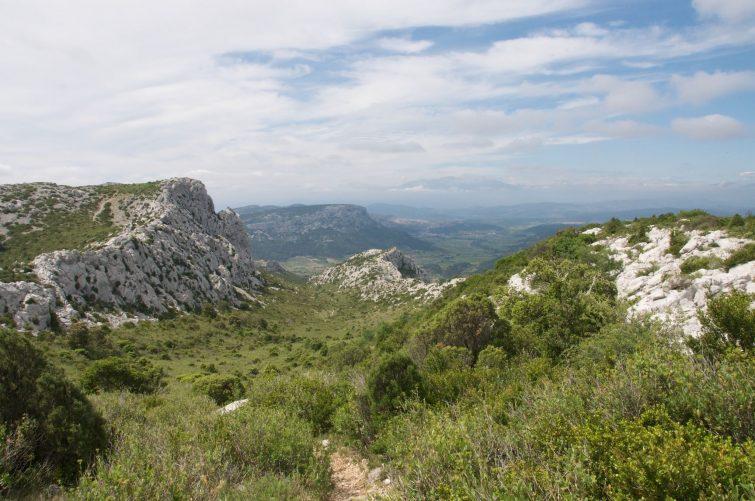 Le circuit des falaises de Vingrau
