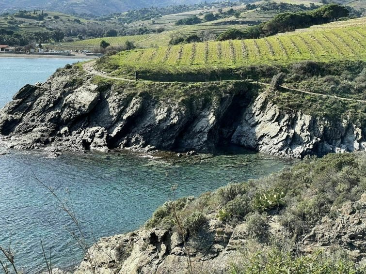 La plage des Elmes et le cap Béar - randonnées Pyrénées Orientales