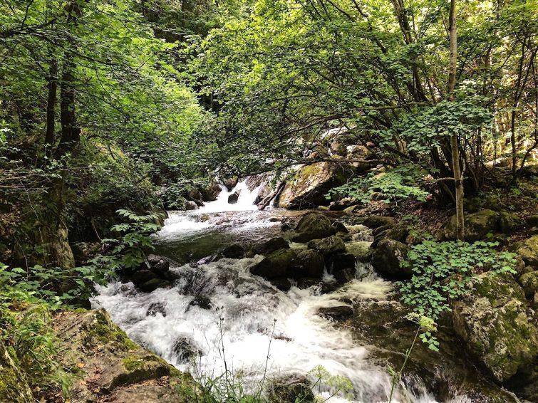 Les gorges de la Carança - randonnées Pyrénées Orientales
